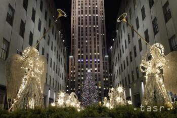 Hviezdu na newyorskom vianočnom stromčeku navrhol nemecký dizajnér
