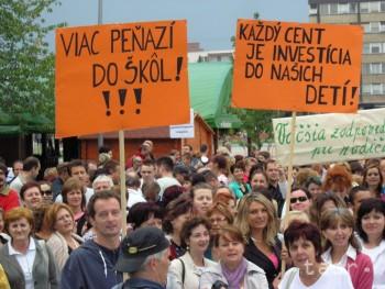 Prieskum odborárov o štrajku sa k mnohým nedostal, tvrdia učitelia