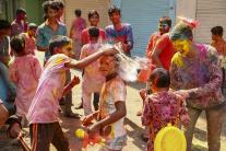 Hinduistický sviatok farieb a jari Hólí