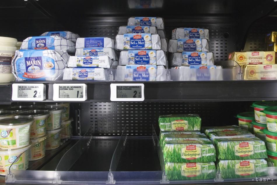 Dopyt po masle stúpa, ceny môžu ešte porásť