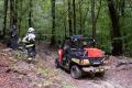 Hasiči pomáhajú v Želovciach pri záchrane postreleného poľovníka