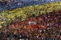 Protivládne demonštrácie v Bukurešti pokračovali už 27. večer po sebe