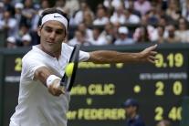 Wimbledon: Federer získal rekordný ôsmy titul