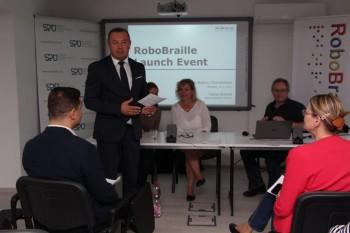 Seminár v ŠPÚ oficiálne spustil službu RoboBraille na Slovensku