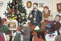 Český maliar Josef Lada nakreslil, ako by mali vyzerať Vianoce