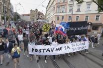 Ján Kuciak, predvečer, svadba, Bratislava, protest