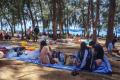 V Thajsku vítali nový rok bez obvyklých bujarých osláv