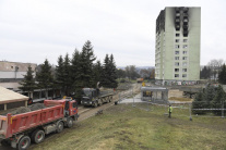 Prešov po výbuchu