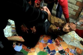 Lekári v Egypte podnikli verejný protest proti policajnému násiliu