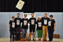 Členovia ochotníckeho divadla