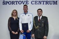 Ocenení športovci Športového centra polície