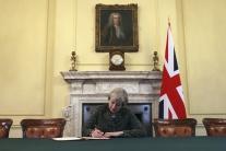 Spojené kráľovstvo oficiálne oznámilo Bruselu spustenie brexitu z EÚ
