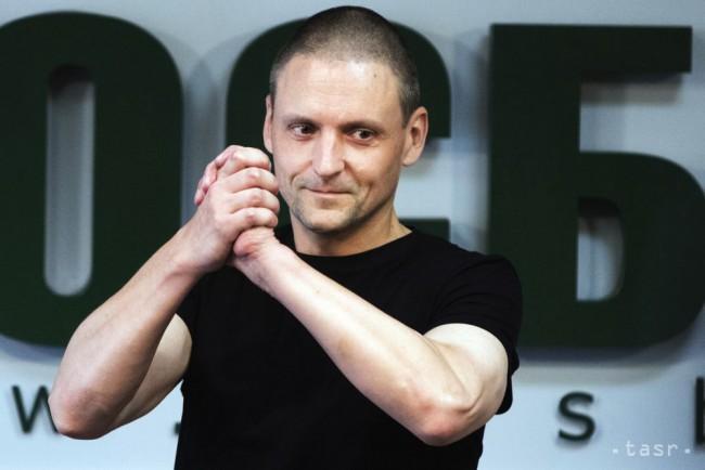 Predstaviteľa opozície Udaľcova pred zhromaždením opäť zatkli