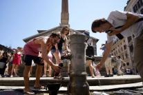 Horúčavy v Európe