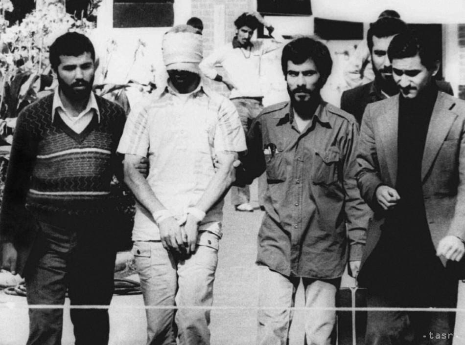 bdc52f46ae83d Iránski študenti držali v zajatí na veľvyslanectve USA 444 dní 52 ľudí