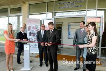 Prešovská univerzita vybudovala ďalších päť špičkových laboratórií