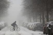 Zima v nemeckom Berlíne