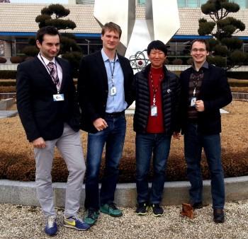 Doktorandi STU sa zapojili do jadrového výskumu v Južnej Kórei