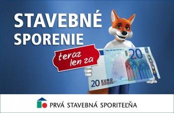 Stačí vám iba 20 eur
