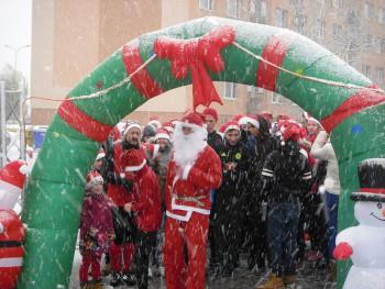 Mikuláš priniesol do Kráľovského Chlmca poriadny sneh
