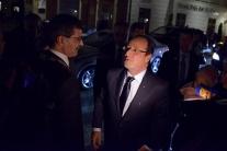 Francois Hollande na Slovensku