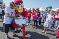 Slovenskí hokejisti sa postavili proti súperom z R