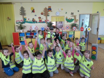 Materská škola Sabinovská spolupracuje s mestskou políciou  Prešov