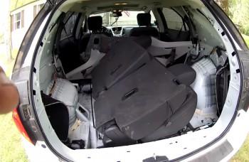 VIDEO: Američanovi sa v aute skryl had, musel rozobrať celý interiér