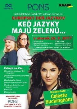 Deň jazykov oslávia Zuza Vačková, Karin Haydu aj Celeste Buckingham