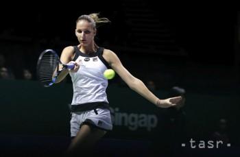 MS v tenise: Debutantka Plíšková zdolala Muguruzovú Blancovú