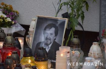 Vrútky: Pamiatku učiteľa Jaroslava Budza si uctili stovky ľudí