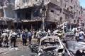 Požiar zničil obchody na trhovisku v historickej časti Damasku