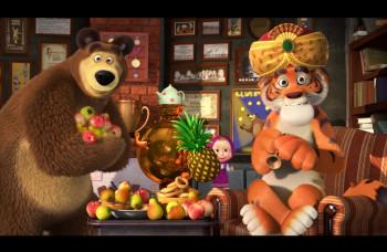 Animovaný fenomén v kinách vo filme Máša a medveď: Mášine pesničky