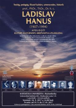 LADISLAV HANUS - apologét kultúry, kultúrnosti, kresťanstva