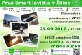 Prvá inteligentná lavička je už aj v žilinskom regióne