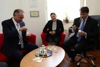 Andrej Kiska na návšteve vo Svidníku
