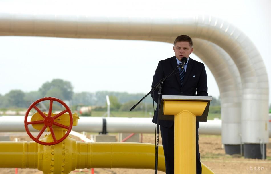 Premiér: Reverzný tok plynu je najlepším riešením pre Ukrajinu aj EÚ