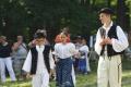 Hornonitrianske folklórne slávnosti pripravili svadbu aj školu tanca