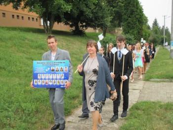 Rozlúčka so žiakmi deviateho ročníka zo ZŠ v Kráľovskom Chlmci