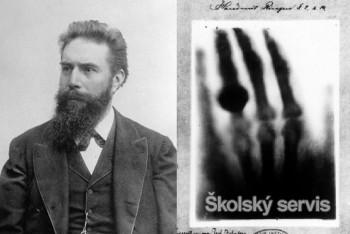 Skromný fyzik Wilhelm Conrad Röntgen objavil prevratné žiarenie