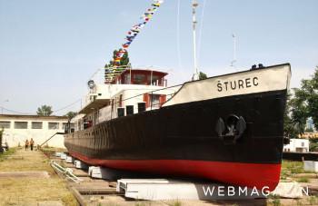 Rekonštruovaný remorkér Šturec opäť otvorí svoje brány verejnosti