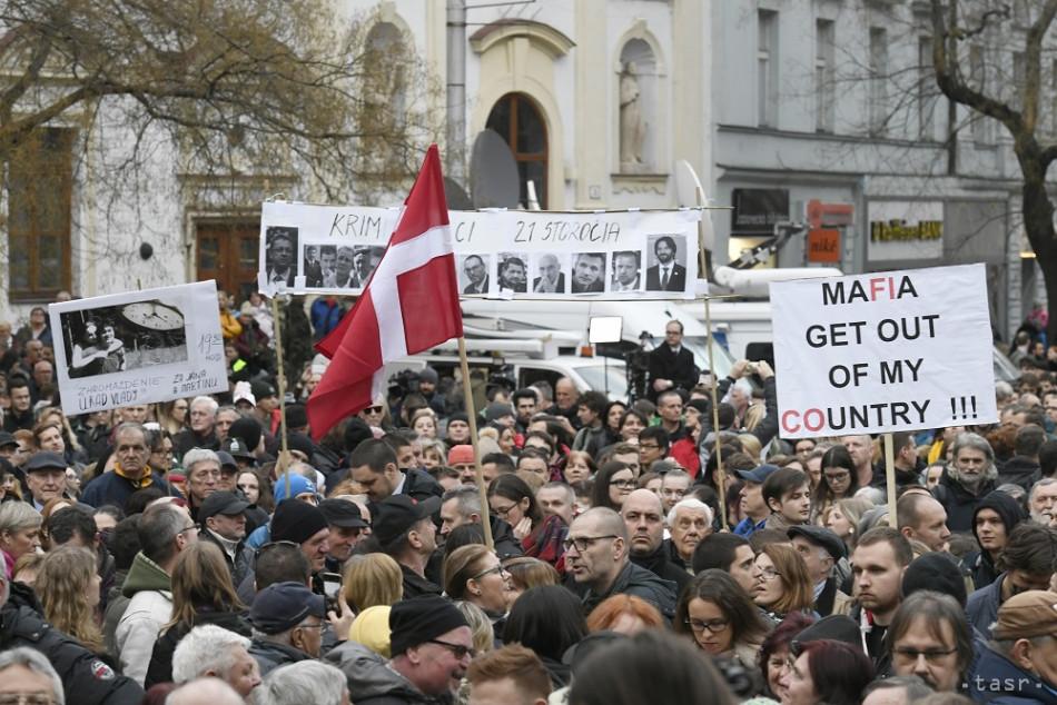 2fb67bde5 Zhromaždenie Za slušné Slovensko v Bratislave