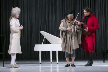 Mozart a Salieri - Bohom milovaný