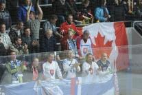 Slovenskí hokejisti zvíťazili nad mužstvom Kanady