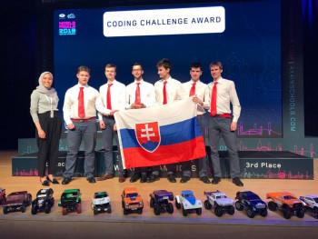 Mladí inžinieri z Košíc sa dostali do TOP 10 na svetovom finále