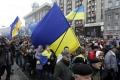 Ukrajinci oslavujú revolúcie a odmietajú kapituláciu pred Ruskom