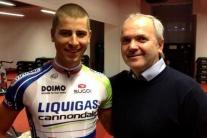 Jozef Korbel s Petrom Saganom