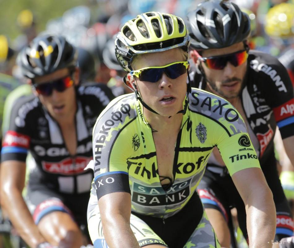 Dánsky cyklista Michael Valgren