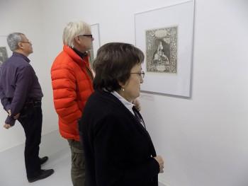 Talianska grafika očarila návštevníkov Galérie umenia Ernesta Zmetáka