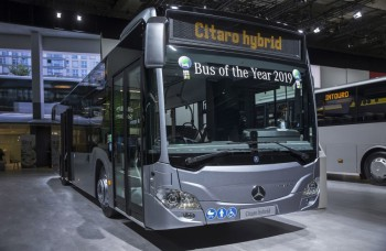 Mestský Citaro hybrid má  titul Bus of the Year 2019